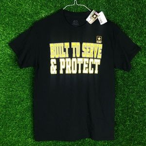 US Army Built To Serve & Protect Tee Shirt